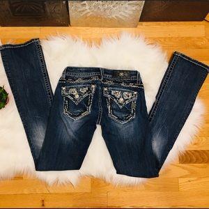 Miss Me Jeans Signature Slim Boot Cut Sz 25